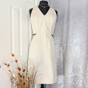 Eddie Rodriguez Taupe dress Sz 6